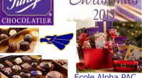 Parents, family and friends. The PAC is offering Purdy's Christmas chocolates and treats. Your purchases support extracurricular activities and scholarships for Alpha students. Purchase online by Friday November27, 2015. Pickup […]