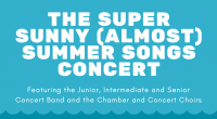Not one, but two great opportunities to get out and hear some great music. Click Spring ConcertorJazz Nightfor more information.