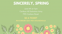 Come Join us for the final concert of the year – Sincerely, Spring. Featuring the Junior Intermediate and Senior Concert Bands and the Concert and Chamber Choirs. Cariboo Hill Salvation […]